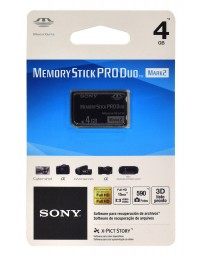 Memoria Stick Pro Duo 4 GB Sony