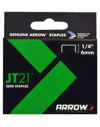 "Grapa 1/4"" JT21 Arrow"