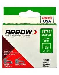 "Grapa 5/16"" JT21 Arrow"