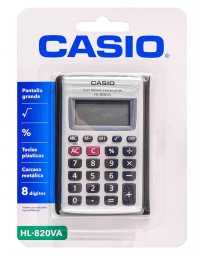 Calculadora 8 Dígitos HL-820VA Casio