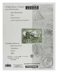 Papel Carta 90 gr Passport c/100