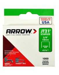"Grapa 3/8"" JT21 276 Arrow"