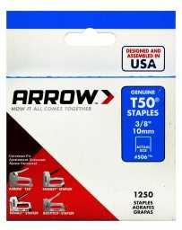 "Grapa 3/8"" T50 506 Arrow"