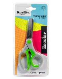 "Tijera Escolar 5"" Barrilito"