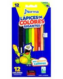 Colores Norma Gigantes Triangular c/12