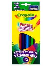 Colores Triangular Crayola c/12
