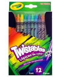 Colores Twistable Crayola c/12