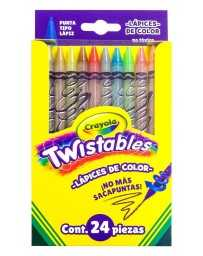 Colores Twistable Crayola c/24