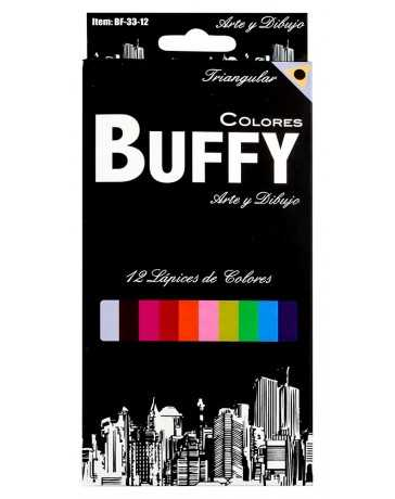 Colores Buffy Triangular c/12