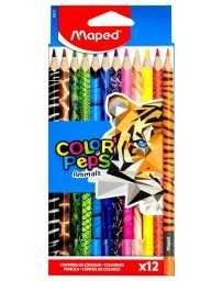 Colores Color Peps Animals Maped c/12