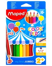 Colores Color Peps Jumbo Maped c/12