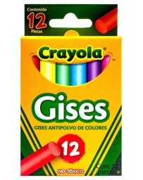 Gises de Color Crayola c/12