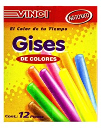 Gises de Color Vinci c/12