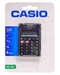 Calculadora 8 Dígitos HL-4A Casio