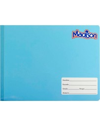 Cuaderno Italiano Cosido Cuadro Chico Madison