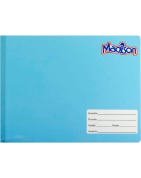 Cuaderno Italiano Cosido Doble Raya Madison