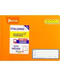 Cuaderno Italiano Cosido Doble Raya Norma Color 360°