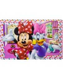 Mantel Individual 42 x 27 cm Minnie Mouse