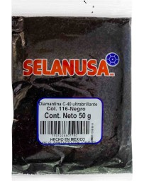 Diamantina Ultrabrillante 50 gr Negro